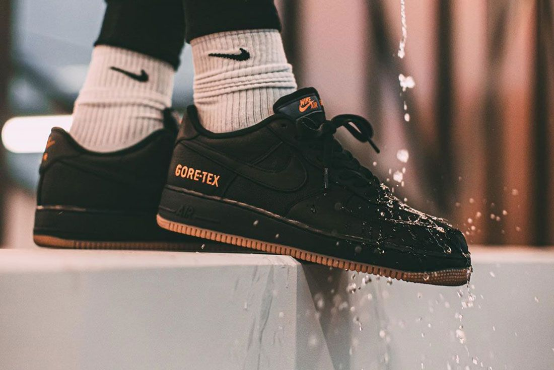 Instabaks Nike Air Force 1 Gore Tex On Foot