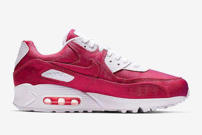 Nike Air Max 90 Hyper Crimson 881105 800 Sie Shot 2