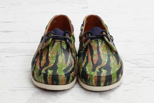 Crocs Elite Camo Boat Shoe Front 1