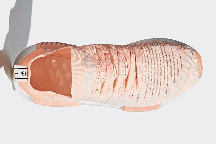 Adidas Nmd R1 Stlt Clear Orange 4