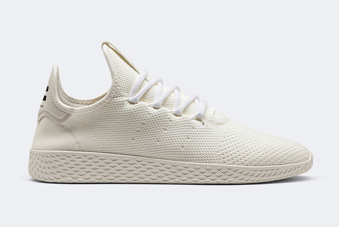 Pharrell Adidas Tennis Hu Holi White Blank Canvas Da9613