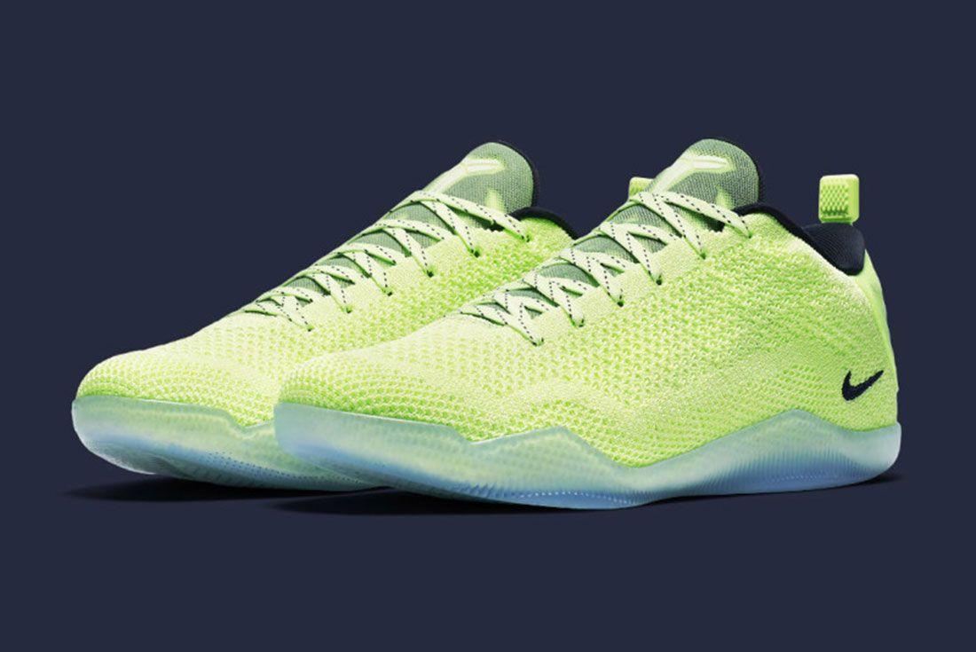 Nike Kobe 11 Liquid Lime 4