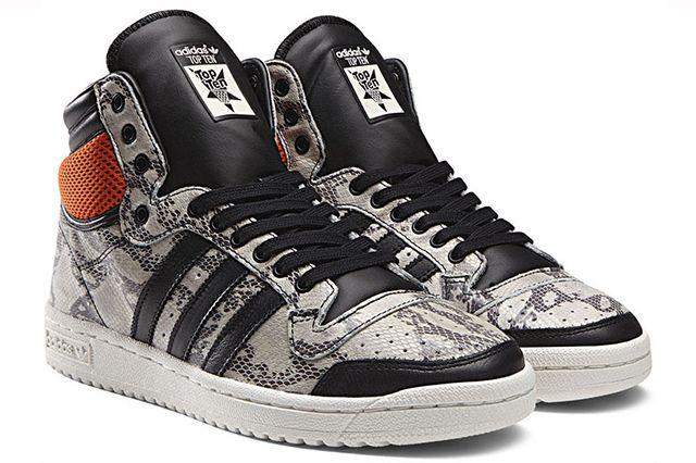 Adidas Originals Top Ten Hi Snake Lux Pack White 02