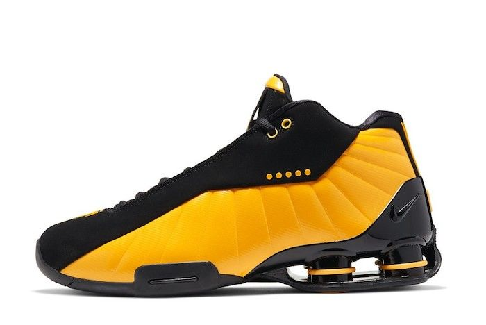 Nike Shox Bb4 University Gold 1