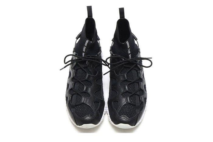 Asics Gel Mai Knit Mt Sock Black White 4