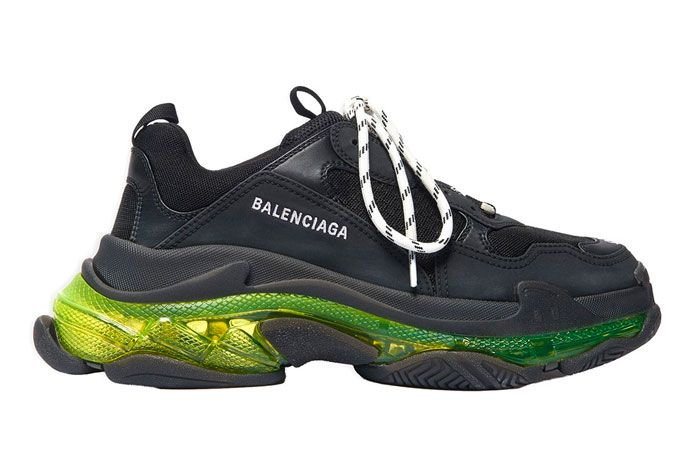 Balenciaga Triple S Neon Yellow Right