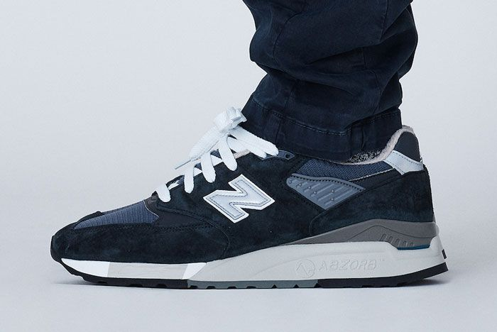 Kith X New Balance 998 Lateral Side