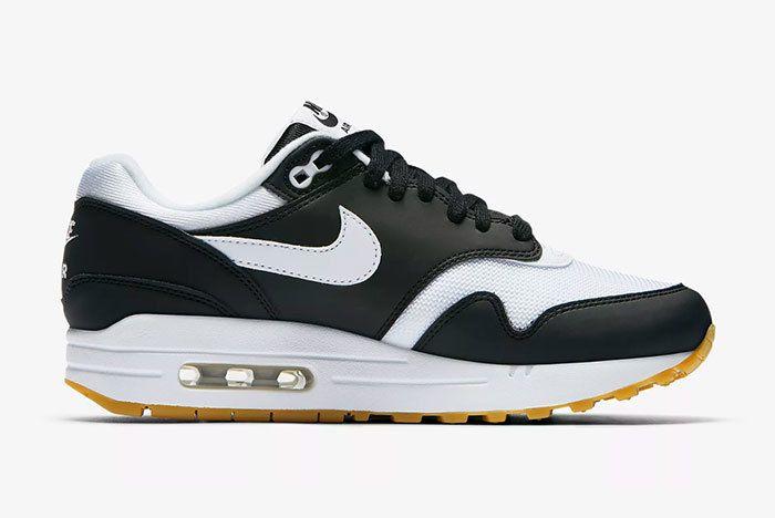 Nike Air Max 1 Black White Gum 3