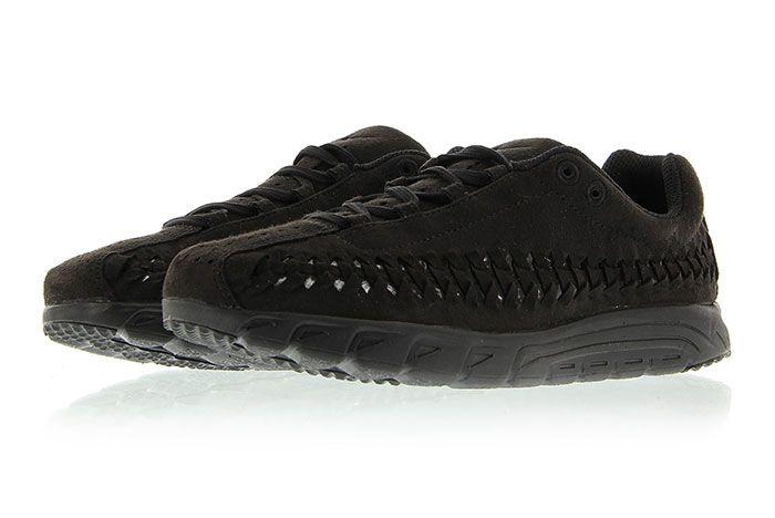 Nike Mayfly Woven Triple Black 6
