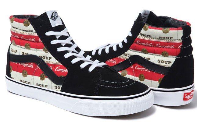 Vans X Supreme Warhol Campbells Soup Pack - Sneaker Freaker