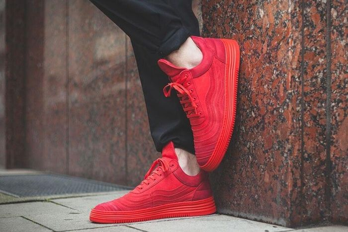 Filling Pieces Low Top All Red 4