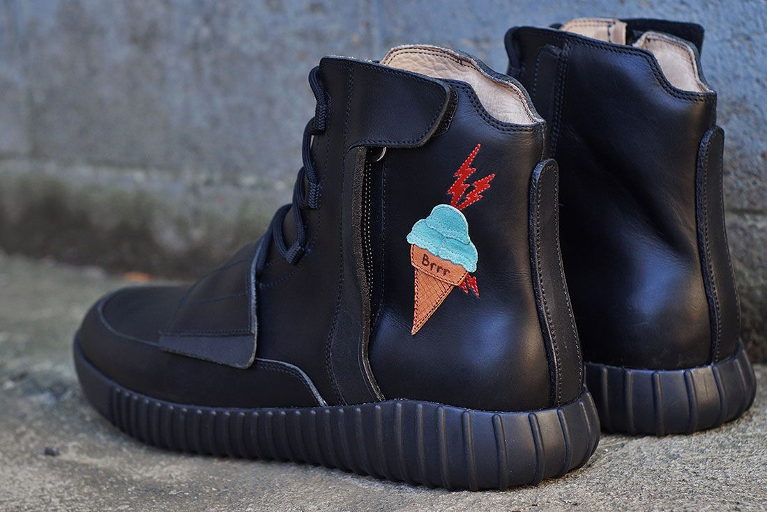Adidas Yeezy Boost 750 Custom 2