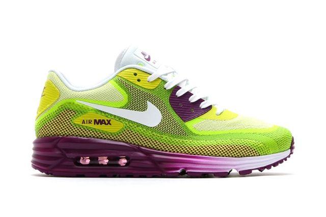 Nike Air Max 90 Lunar Bright Grape Venom Green 1