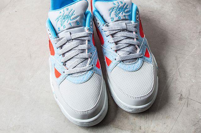 Nike Air Flight 13 Light Crimson Base Grey