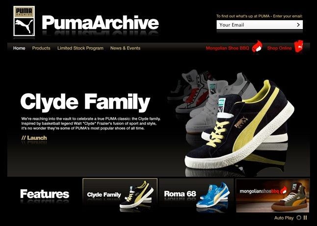 Puma Archive Site Launched 1