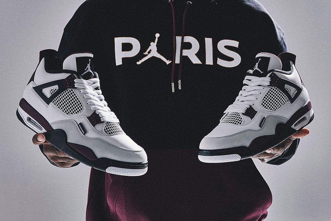 JD Sports Air Jordan 4 PSG