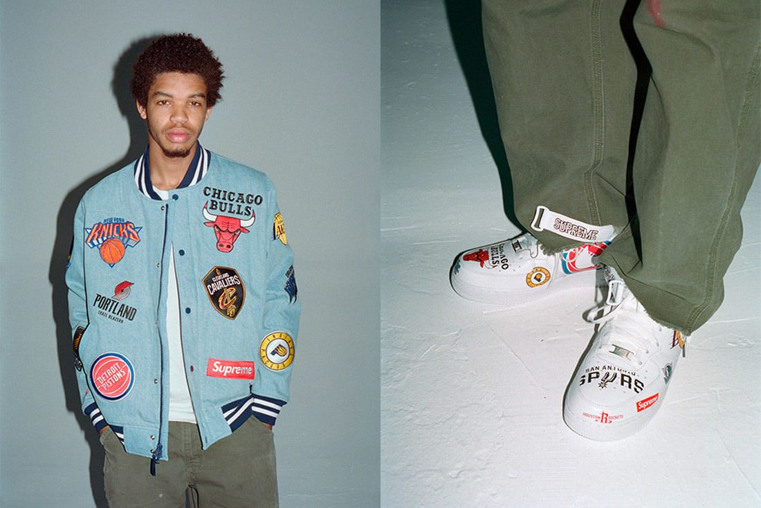 Supreme Nike Nba Air Force 1 High Sneaker Freaker 10