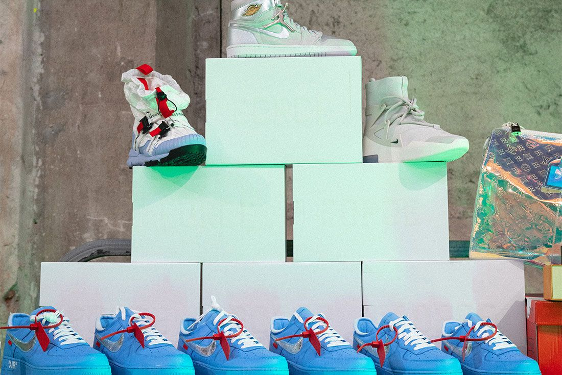 Sneakerness Milan Sneaker Freaker Vendor Tables55