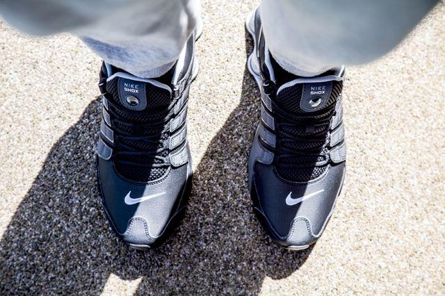Nike Shox Black Silver Anthracite 3