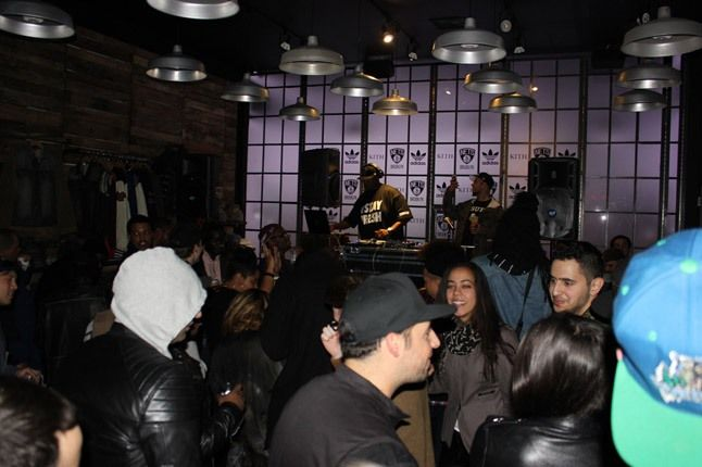 Adidas Kith Party Brooklyn Dj 1