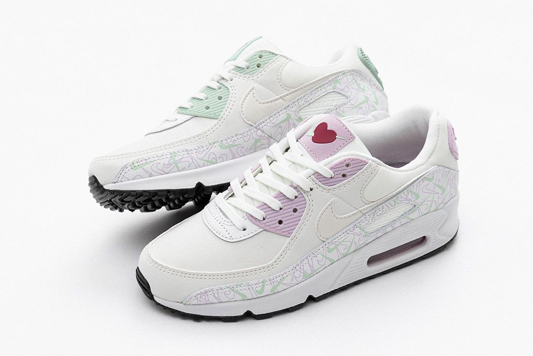 Valentines Day Nike Air Max 90 Air Force 1 07 Se Left