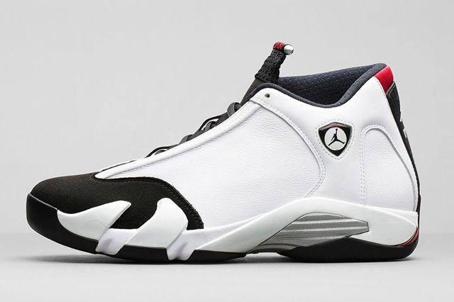 Air Jordan 14 White Black Og Retro Bump 4