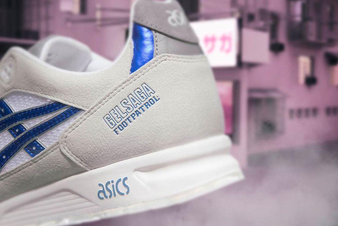 Footpatrol X Asics Gel Saga 5