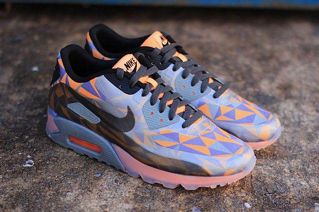 Nike Air Max 90 Ice (Atomic Orange) - Sneaker Freaker