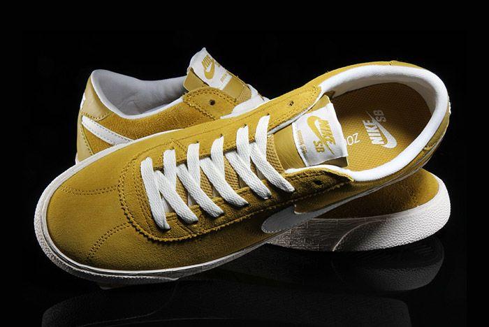 Nike Sb Bruin Premium Peat Moss Yellow 2