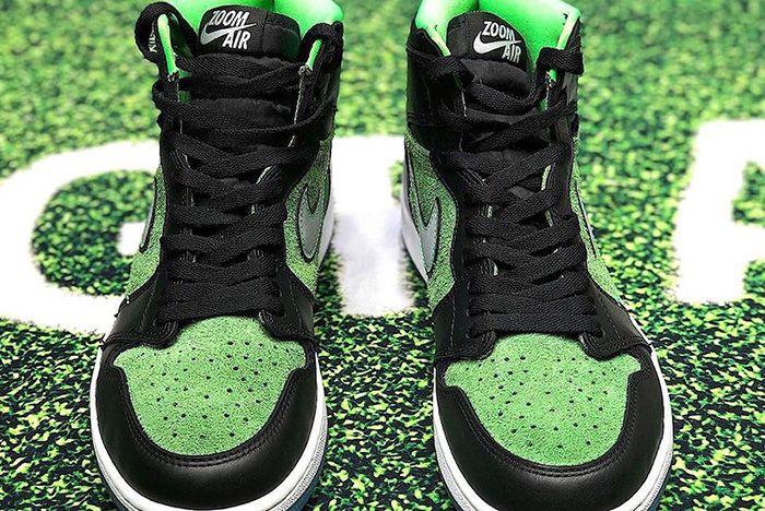 Air Jordan 1 Zoom Black Rage Green Ck6637 002 Release Date Leak 3