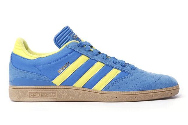 Adidas Busenitz Blue Yellow Profile 1