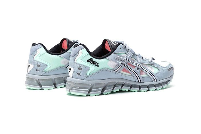 Asics Gel Kayano 5 360 Grey Mint Tint 1021A196 020 Rear