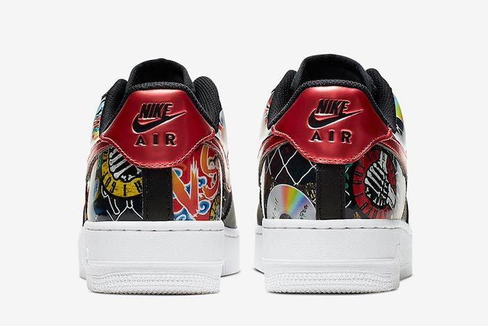 Nike Air Force 1 Low Pop Culture Ck0732 081 Heels