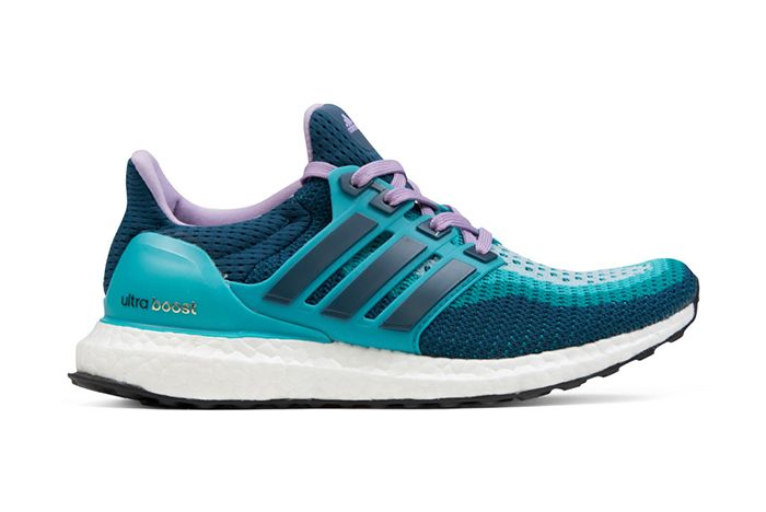 adidas ultra boost blue and green