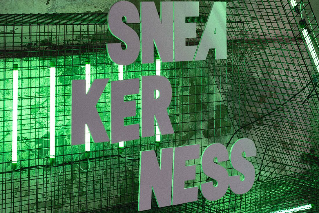 Sneakerness Milan Sneaker Freaker Vendor Tables10