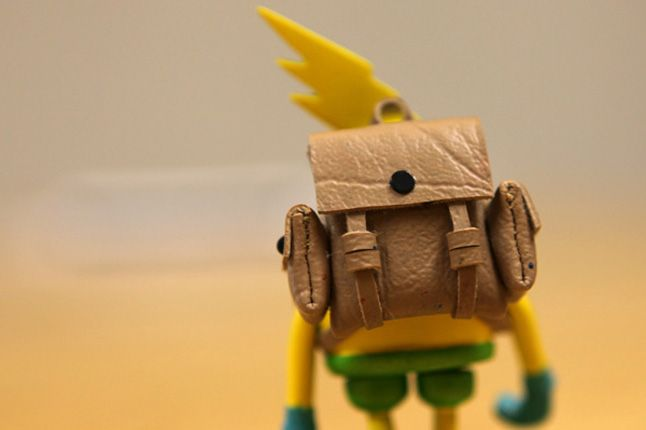 Yellow The Misery Backpack 1