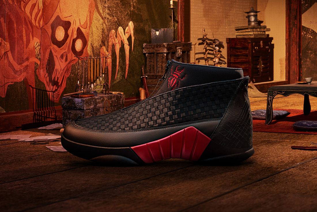 Laika X Air Jordan 15 Kubo And The Two Strings6