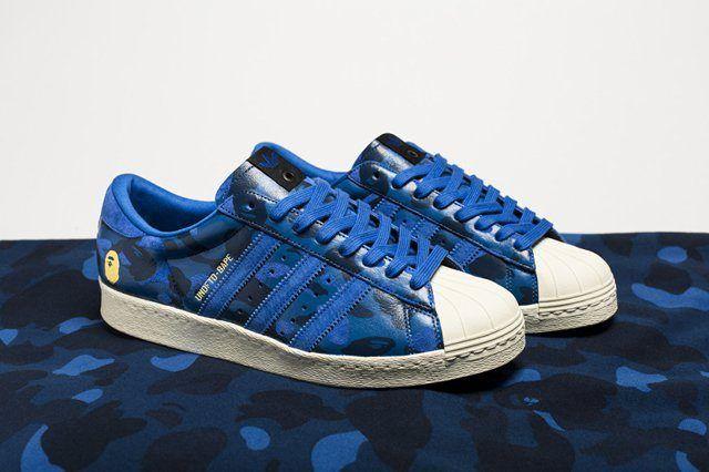 Bape X Undftd X Adidas Consortium Superstar 80 3