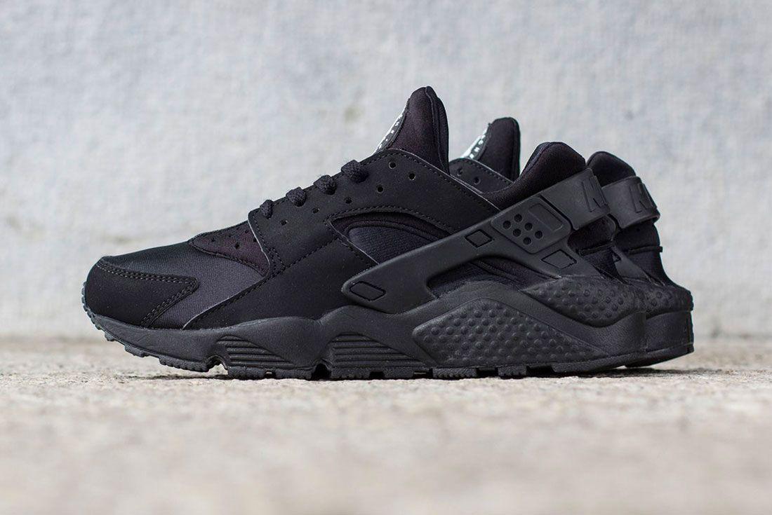 Nike Air Huarache Triple Black 2014