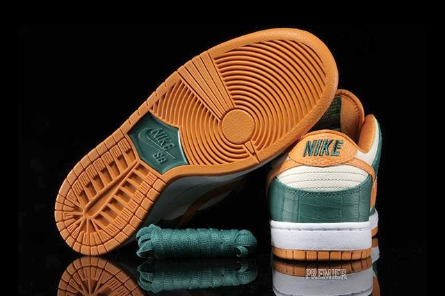 Nike Sb Dunk Low Legion Pine Kumquat 5