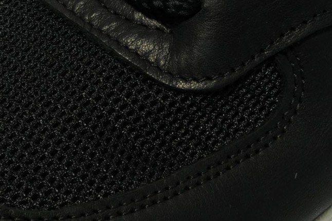 New Balance 576 Premium Leather Black Toebox 1