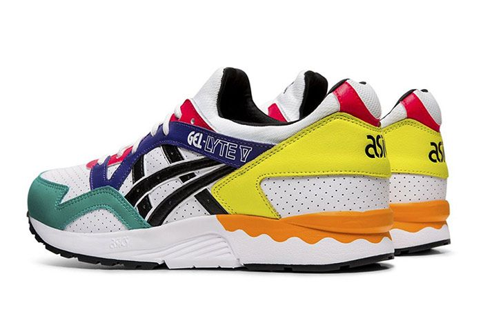 Asics Gel Lyte V Multi Color Leather Heel