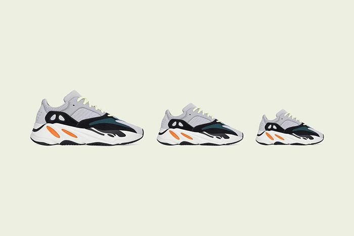 Adidas Yeezy Boost 700 Wave Runner Full Family Sizes 2019 Release Date Lateral