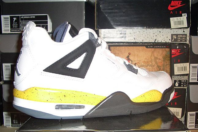 Rebecca Dahms Wmns Basketball Collection Air Jordan 4 Tour Yellow 1