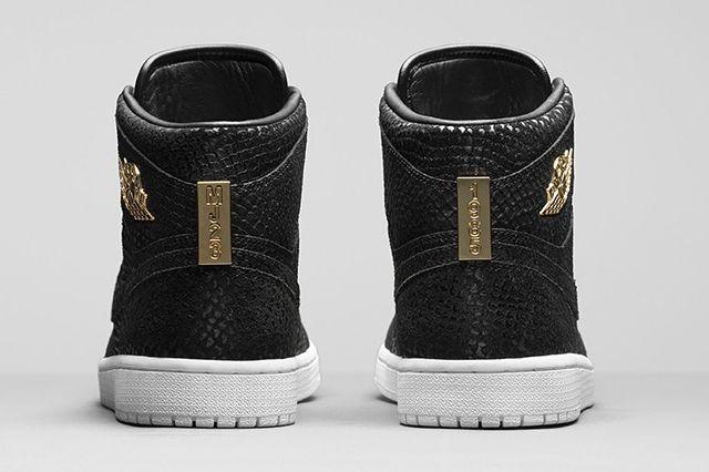 Air Jordan 1 High Pinnacle Black 7