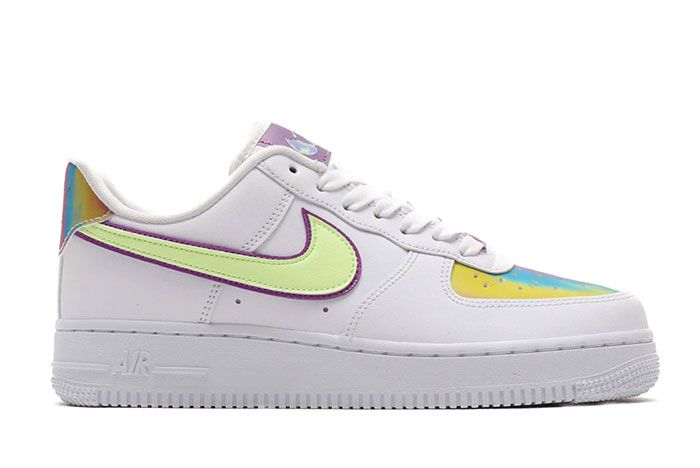 Nike Air Force 1 Low Easter 2020 Cw0367 100 Lateral Side Shot