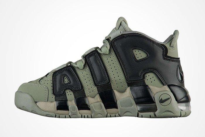 Nike Air More Uptempo Dark Stucco Feature
