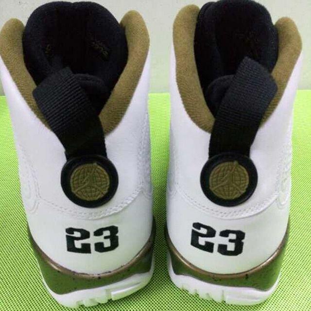 Air Jordan 9 Military Green 1