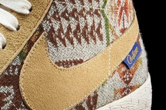 Nike Blazer Pendleton Detail