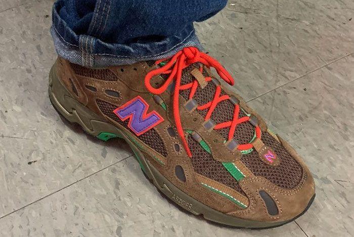Stray Rats New Balance 827 On Foot Right